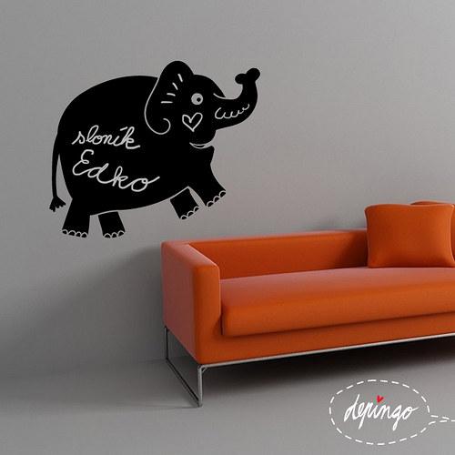 nálepka: sloník Edík