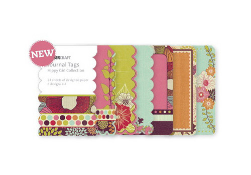 Hippy Girl Journal Tags - KC - scrapbook