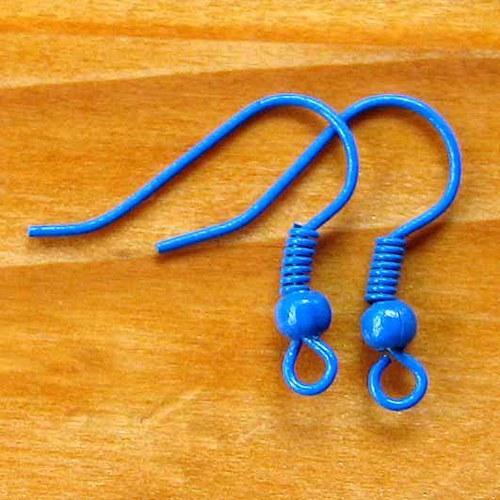 Afroháčky - 10ks - Tmavě Modré