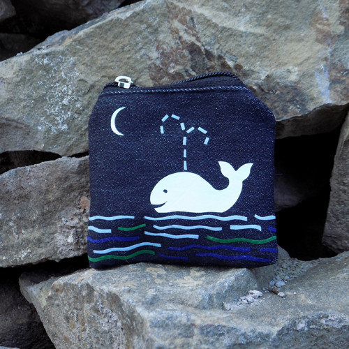 "Klíčenka \""Bílá velryba\"""