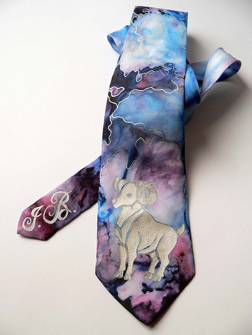 Luxusní kravata - Beran - SD-H-009