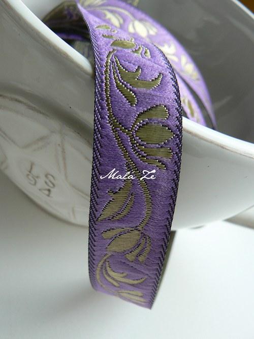 "Stuha \""violet\"""