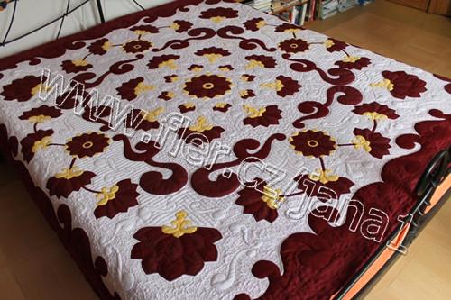 T099.16 Přehoz na postel - Královský