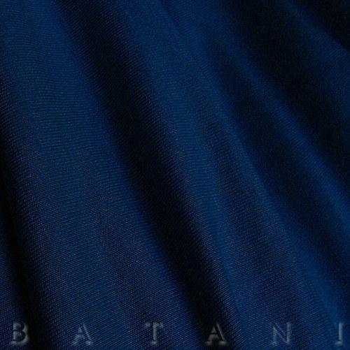 Viskózový úplet tmavě modrý