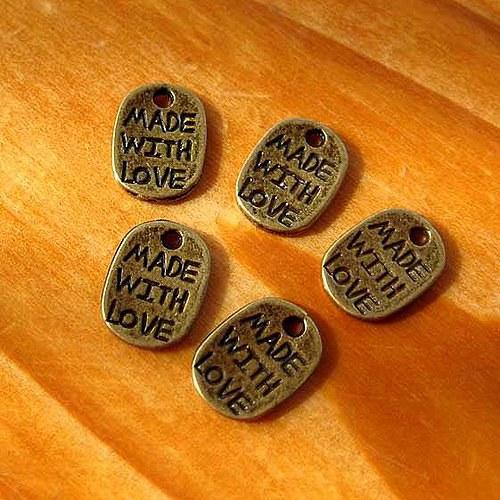 Made With Love - 4ks - Bronzový