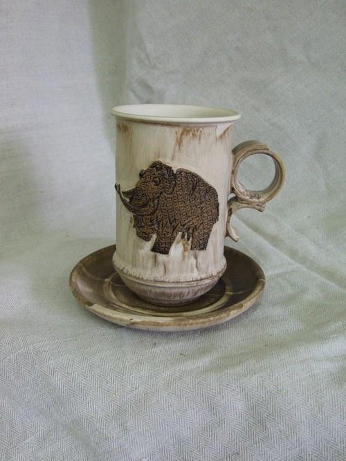 Hrnek Hubert 0,45l mamut