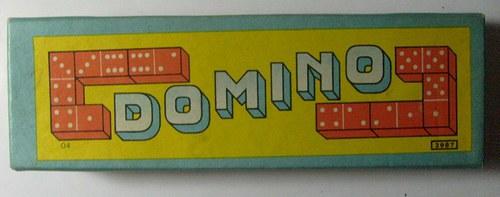 * Dřevěné Domino * 60.tá léta * NEHRANÉ