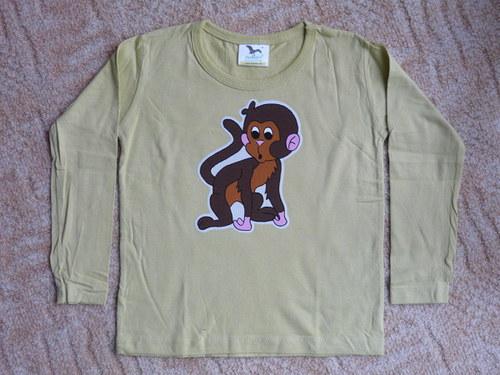 Tričko s opičkou - ! SLEVA !