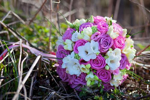 Růžová variace- kulatá