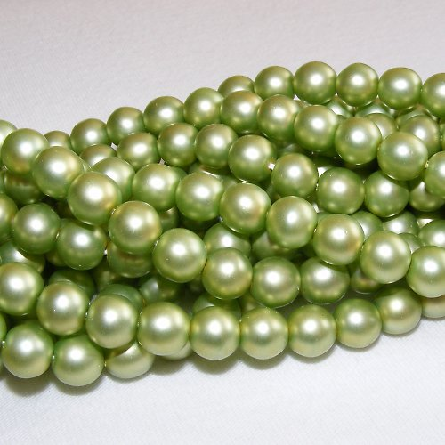 Voskové perle 8mm - matné