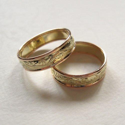 Klasické snubní prsteny, Au 585/1000
