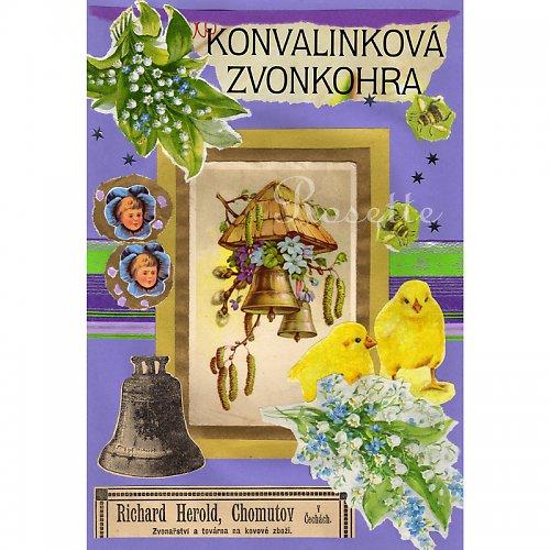 Konvalinková zvonkohra - foto autorské koláže