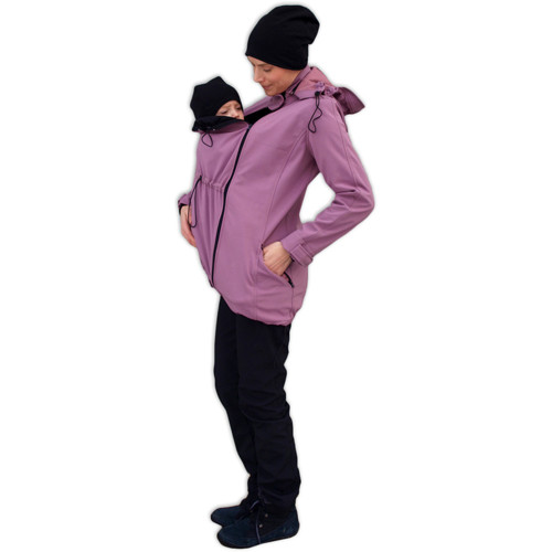 Softshellová bunda pro těhotné a nosící ženy