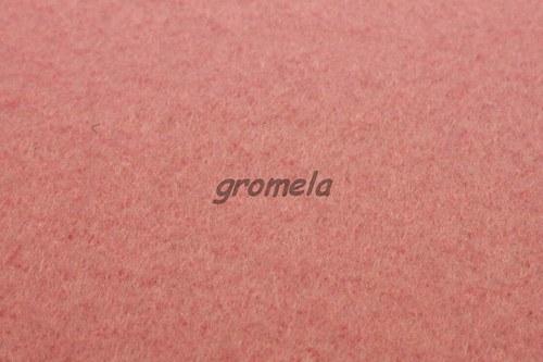 Světle růžový filc 1,5 mm - 36