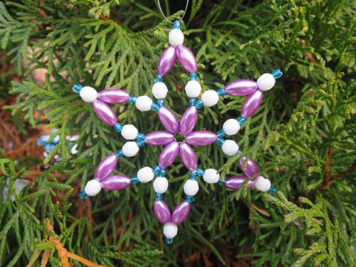 Hvězdička fialkovo modrá