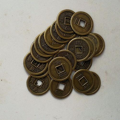 Čínské mince 20 ks