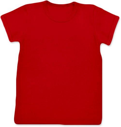 Dětské Uni tričko KR červené