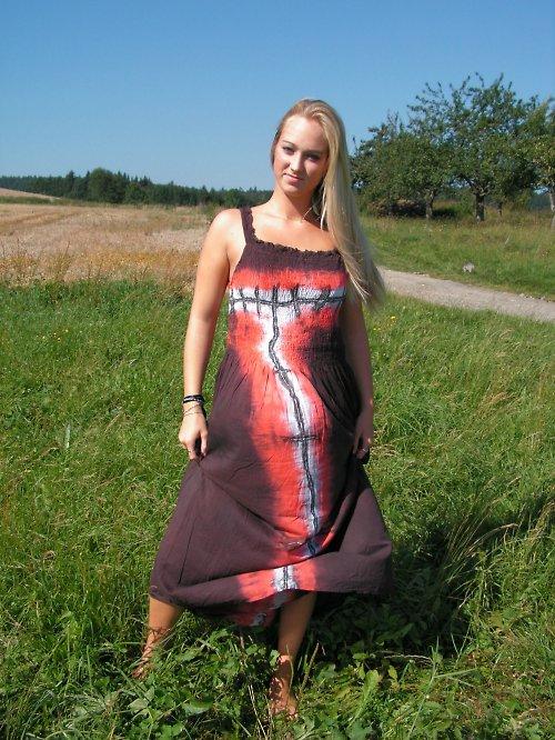 Malované šaty