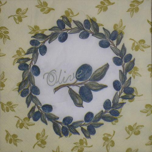 Olivový věneček