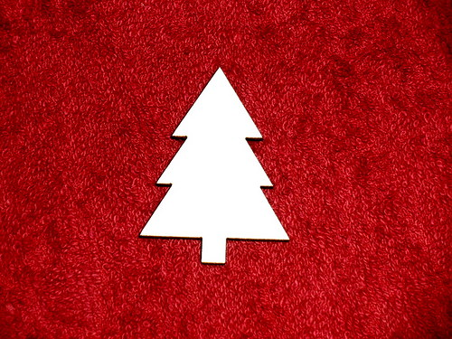 2D výřez - stromek 4,8x3,5cm