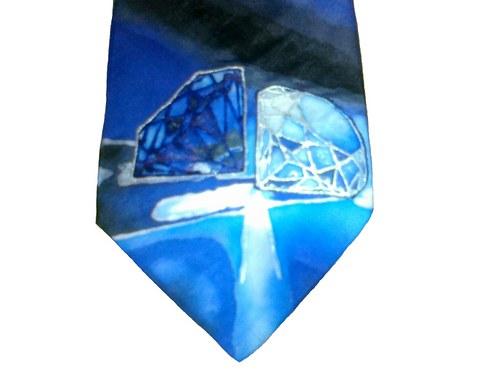 Kravata s brilianty