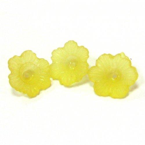 Kytičky žluté - 2 ks