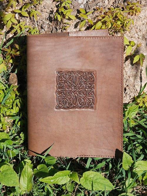 Kožený obal na knihu