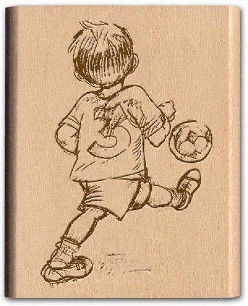 Razítko NOSTALGIA Fotbalista