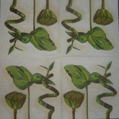 Ubrousek Zelené květy