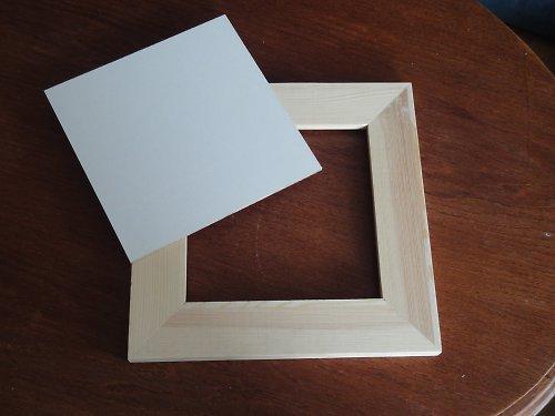 Dřevěný rámeček k dalšímu tvoření