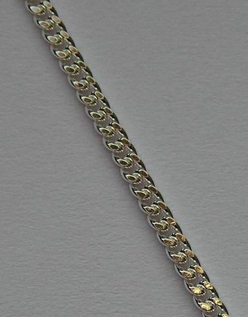 Klasický (var B) - stříbrný řetízek - délka 20cm