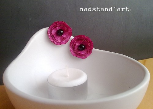 """Náušnice \""""růžové kouzlení\"""""""