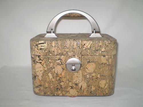 Korkový kosmetický kufr
