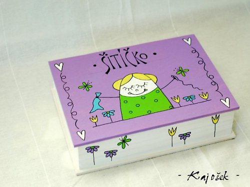 ŠITÍČKO malovaná krabička
