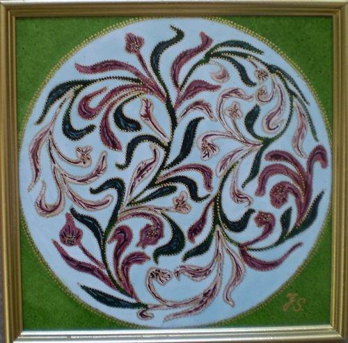 Orientální mandala -  Jednota lásky