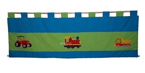 Kapsář za postel - Traktor, mašinka, náklaďák