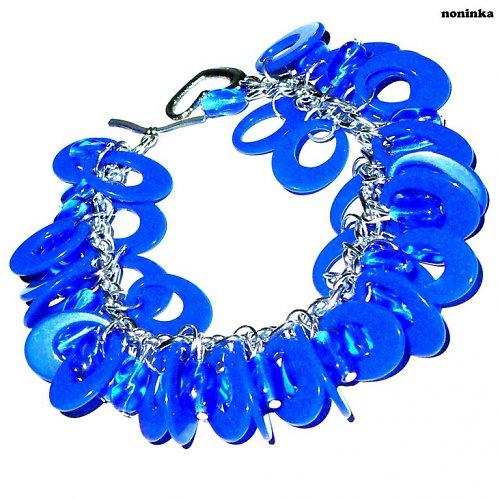 Oválková modř - VÝPRODEJ