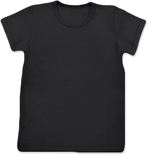 Dětské Uni tričko KR černé