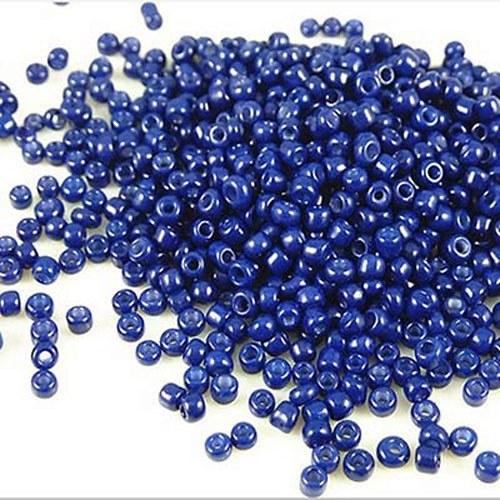 200 KUSŮ modré korálky