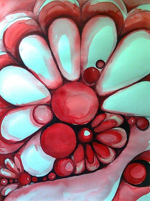 Abstraktní květina...