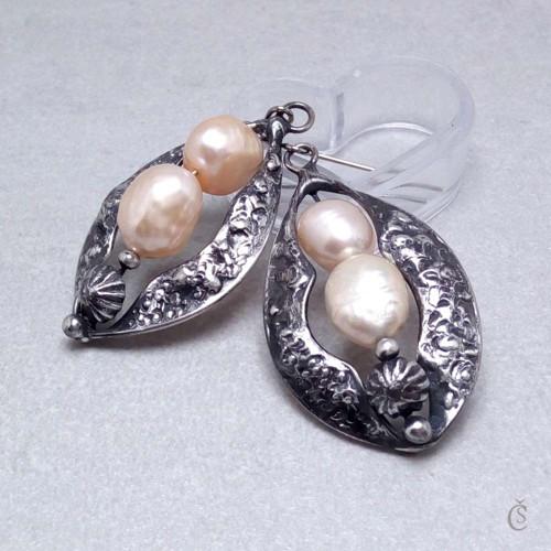 Náušničky pro perlovou paní