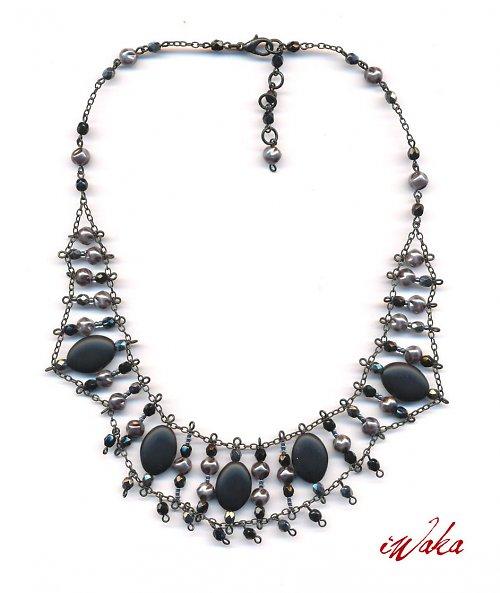 Secesní náhrdelník