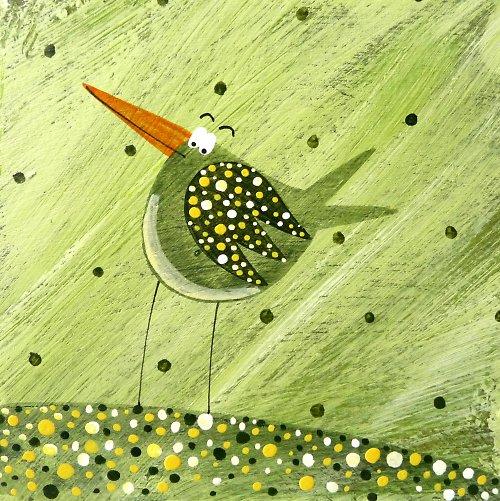samice od kraba zelená - Karlík slavík