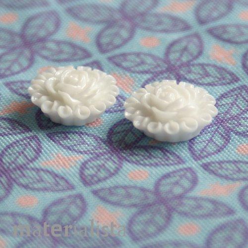 Růžičky bílé