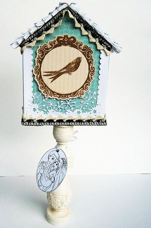 Zasněžená svatební dekorace