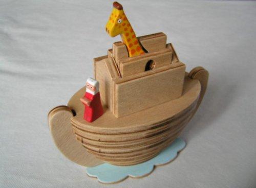 Noemova archa - drevená skladačka pre deti