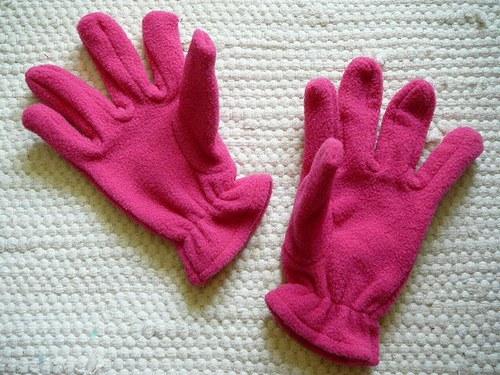 Dětské fleecové rukavičky