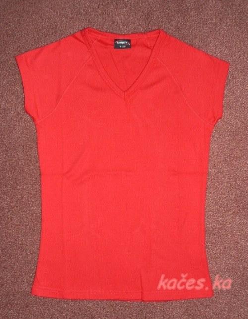 Dámské triko pro Vaše tvoření - červené (vel.S)