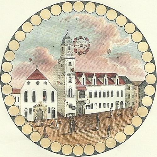 Z historie razítko Bratislava 1985
