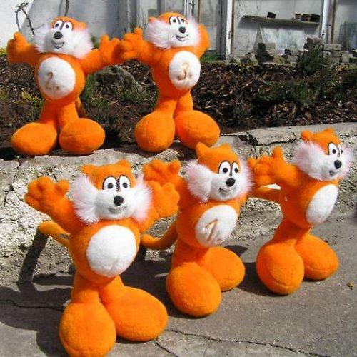 Oranžový kocour Maxík